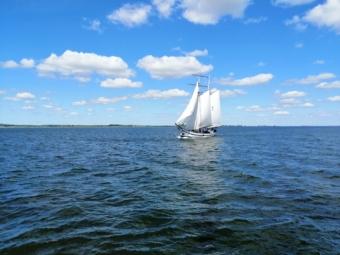 Vliegende Hollander op het IJsselmeer
