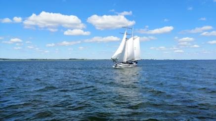 Vliegende Hollander auf das IJsselmeer